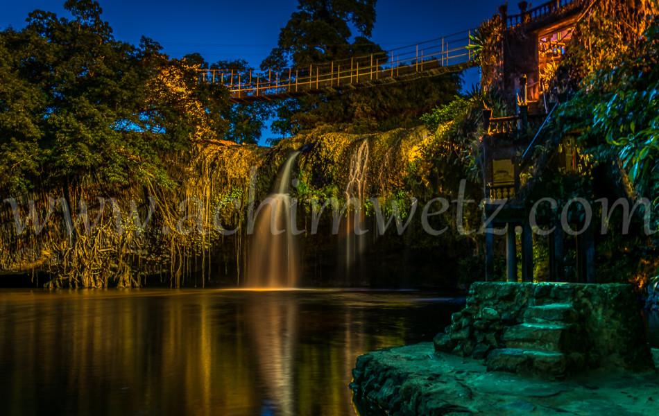 Waterfall at Night 4142