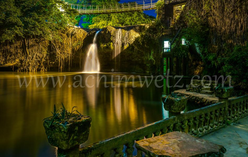 Waterfall at Night 4185