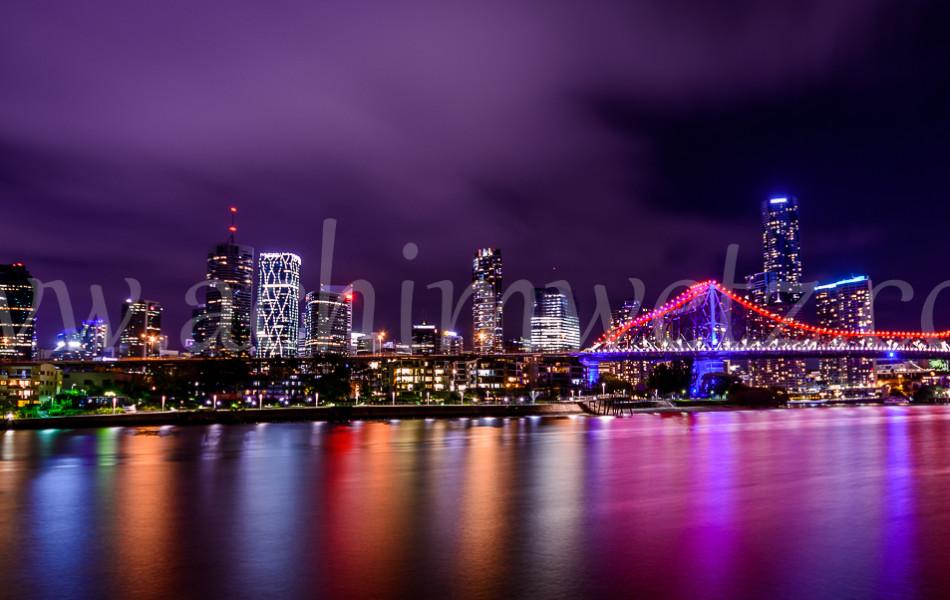 Brisbane Skyline 8579